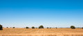 Arid spanish landscape in the summer Stock Photo