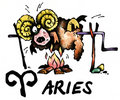Aries illustration Royalty Free Stock Photography