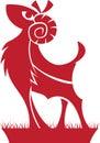 Aries Zodiac/Horoscope Symbol Royalty Free Stock Photo