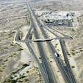 Arizona desert interstate. Stock Photography