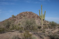 Arizona Desert Scenery Stock Photo