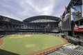 Arizona diamondbacks chase field stadium from its signature swimming pool to its retractable roof is one of professional baseball Stock Photography