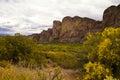 Arizona Mountains Near Saguaro...