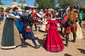 Arizona Renaissance Festival Entertainers Royalty Free Stock Photo