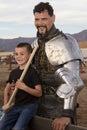 Arizona Renaissance Festival Knight Man Royalty Free Stock Photo