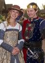 Arizona Renaissance Festival Man and Woman Royalty Free Stock Photo