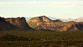 Arizona's Superstition Mountains Stock Photography
