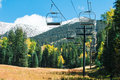 Arizona Snowbowl in Flagstaff. Royalty Free Stock Photo
