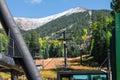 Arizona Snowbowl in Flagstaff. Royalty Free Stock Photo