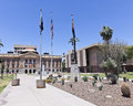 Arizona State Capitol building in Phoenix, Arizona Stock Photography