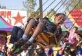 Arizona State Fair kids carnival ride Royalty Free Stock Photo