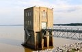 Arkabutla Dam Pumping Station, Robinsonville Mississippi Royalty Free Stock Photo