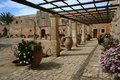 Arkadi Monastery, Moni Arkadio Royalty Free Stock Photography