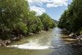 Arkansas River in Colorado Royalty Free Stock Photo