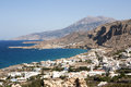 Arkasa village, Karpathos Island - Greece Stock Image
