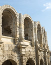 Arles bouches du rhone provence alpes cote d azur france les arenes the roman amphitheatre Royalty Free Stock Photos