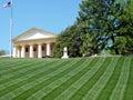 Arlington Cemetery the Arlington House Memorial 2010 Royalty Free Stock Photo