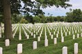 Arlington cemetery washington june national on june in washington national was established in and has graves Royalty Free Stock Photo