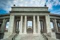 The Arlington Memorial Amphitheater at Arlington National Cemetery, in Arlington, Virginia. Royalty Free Stock Photo
