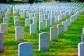 Arlington National Cemetery VA near Washington DC Royalty Free Stock Photo