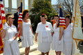 Arlington, VA: Ladies Auxilliay Members at Arlington Nat'l Cemetery