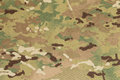 Armed force multicam camouflage fabric