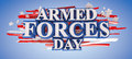 Armed Forces Day Royalty Free Stock Photo
