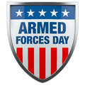Armed Forces Day USA Royalty Free Stock Photo
