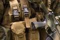 Armed U.S. Marine Stock Images
