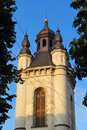 Armenian church ancient in lvov ukraine Royalty Free Stock Images