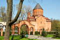 Armenian church in kaliningrad russia Stock Photos