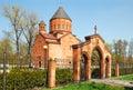 Armenian church in kaliningrad russia Stock Images
