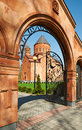 Armenian church in kaliningrad russia Royalty Free Stock Image