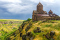 Armenian hovannavank monastery the complex of hovhannavank is situated in the village of the same names of the aragatzotn district Stock Photo