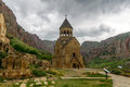 Armenian noravank monastery նորավանք literally new is a th century located km from yerevan in a narrow Stock Image