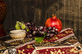 Armenian Still Life On Old Fas...