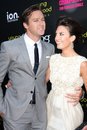 Armie Hammer, Elizabeth Chambers Royalty Free Stock Photos