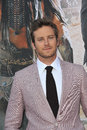 Armie hammer ranger at the world premiere of his new movie the lone at disney california adventure june anaheim ca picture paul Stock Photo