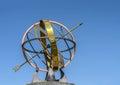 Armillar sphere at park tehran iran Royalty Free Stock Image