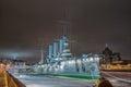 Armoured cruiser Aurora, St.Petersburg, Russia Royalty Free Stock Photo
