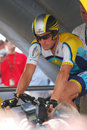 Armstrong Lance - Tour de France 2009 Royalty Free Stock Photo