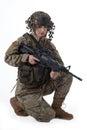 Army girl 9 Royalty Free Stock Photo