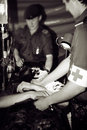 Armáda nemocnice válka zóna