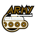 Army icon Royalty Free Stock Photography