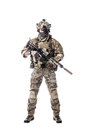 Army Ranger in field Uniforms Royalty Free Stock Photo