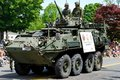 Army Vehicle in the Parade Royalty Free Stock Photo