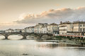 Arno River Stock Image