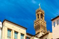 Arnolfo tower of Palazzo Vecchio, Florence, Italy Royalty Free Stock Photo