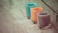 Aroma candles Royalty Free Stock Photo