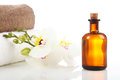 Aromatherapy and Massage Oil Royalty Free Stock Images